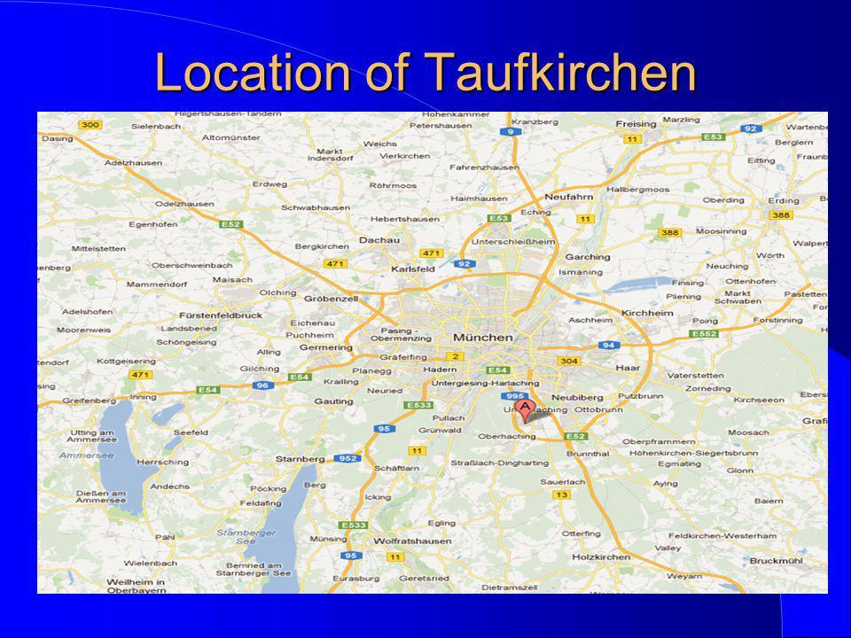 Location of Taufkirchen