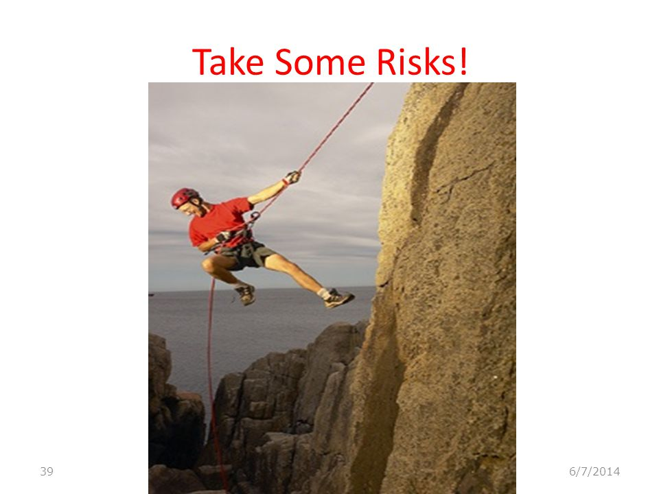 B-Talking About Potential Risk This is a very important technique for reducing risks both before and during activities.