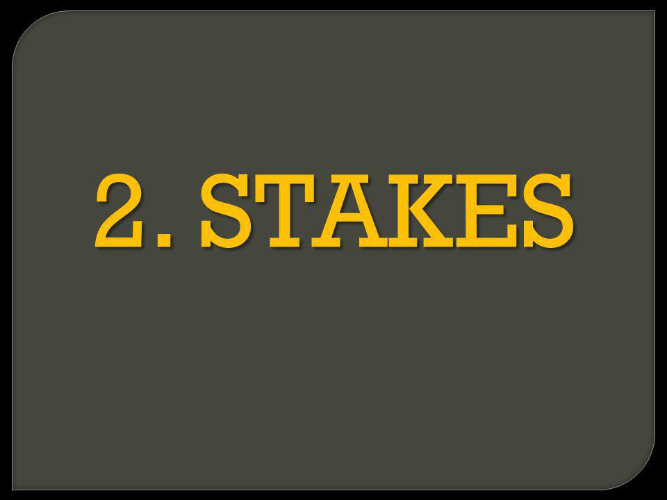 2. STAKES