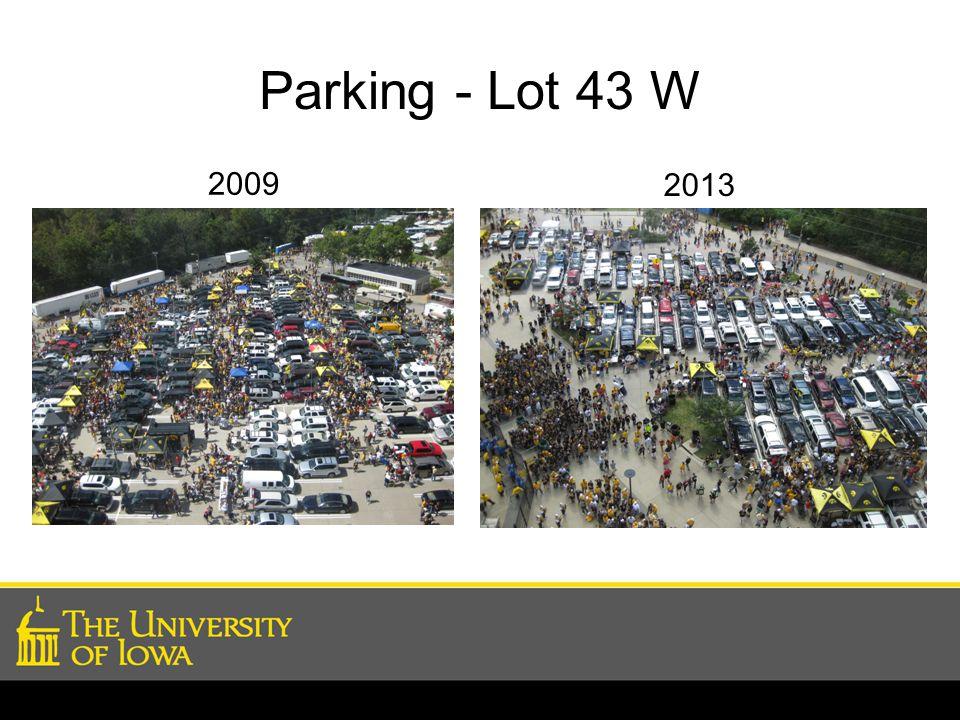 Parking - Lot 43 W 2009 2013