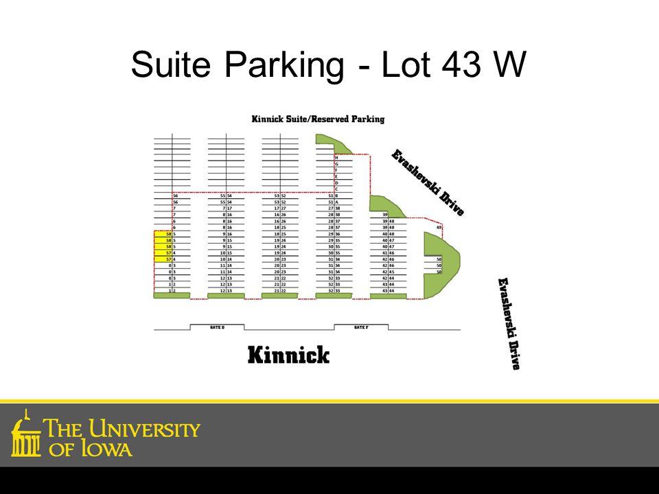 Suite Parking - Lot 43 W
