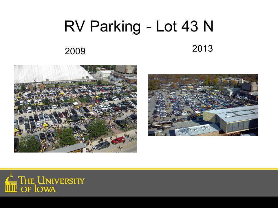 RV Parking - Lot 43 N 2009 2013