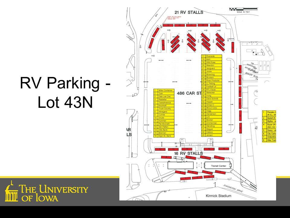 RV Parking - Lot 43N