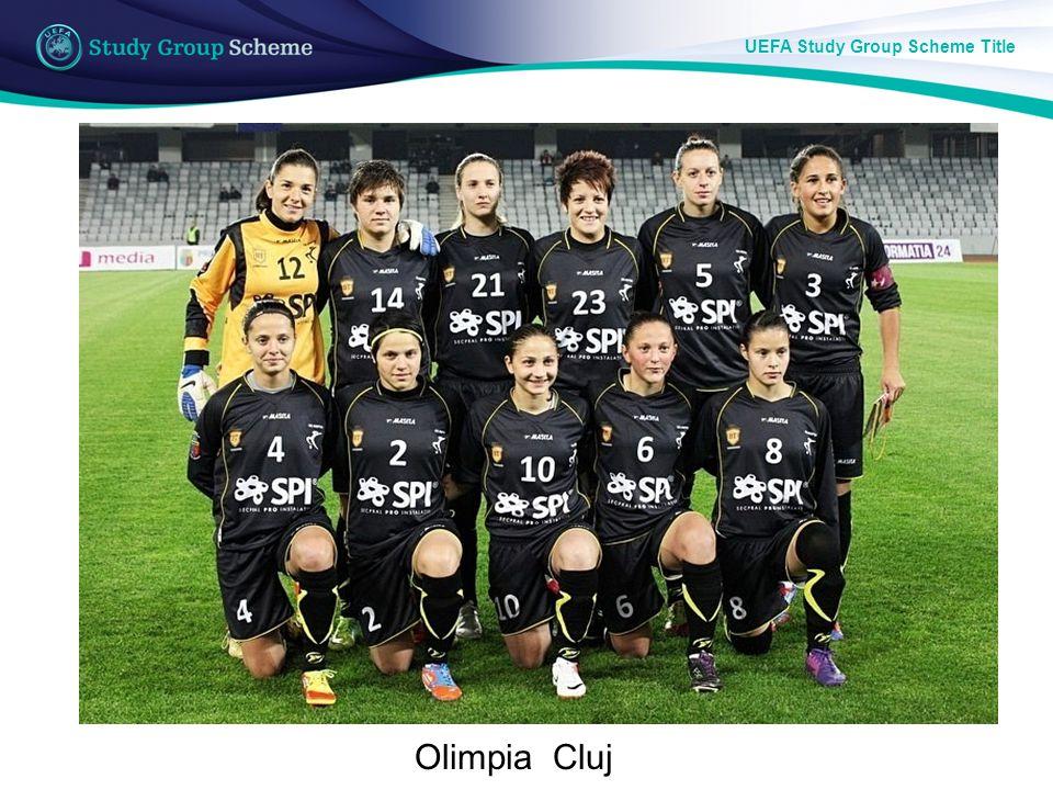 UEFA Study Group Scheme Title Large Format Images Olimpia Cluj