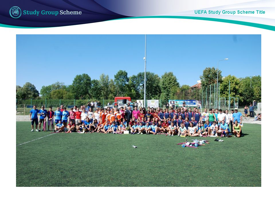 UEFA Study Group Scheme Title