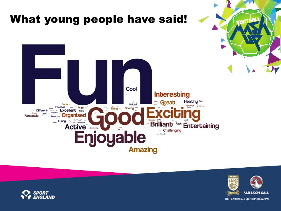 What young people have said!