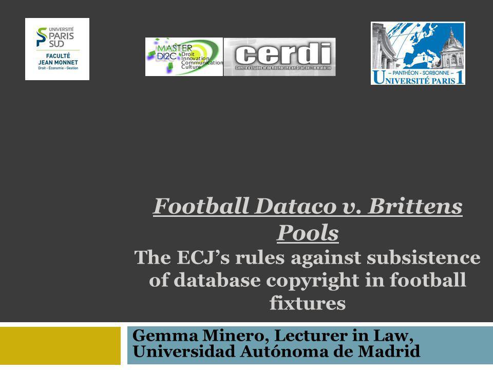 Football Dataco v.