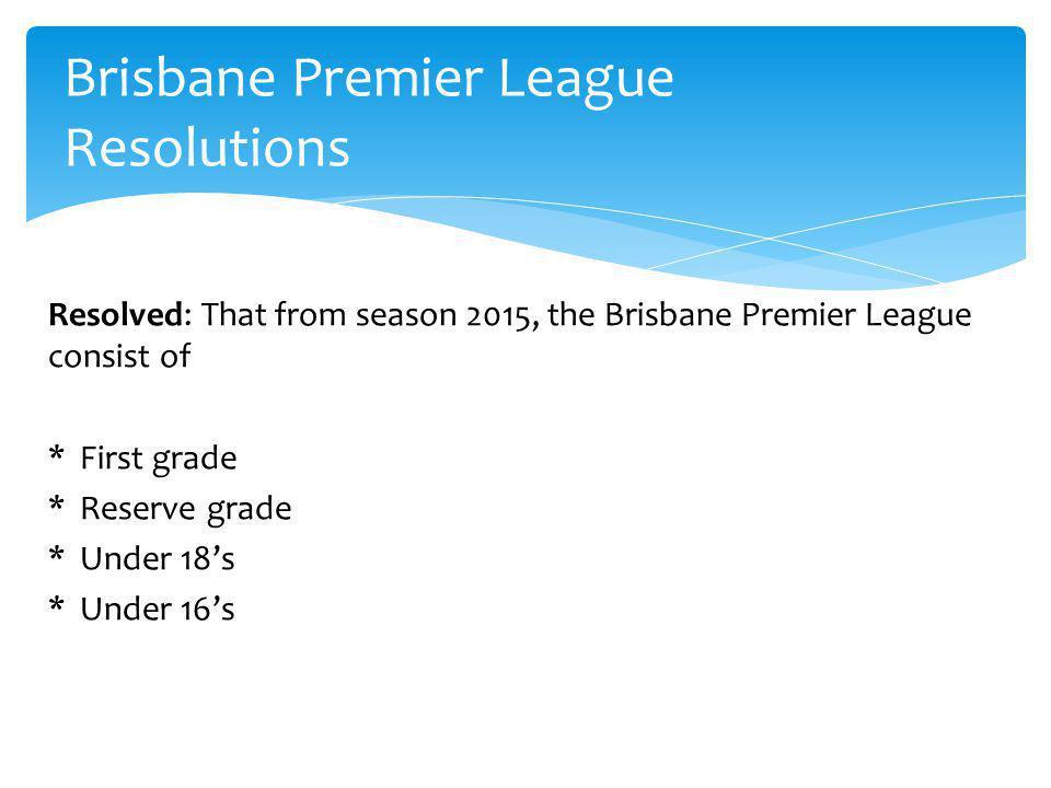 Brisbane Premier League