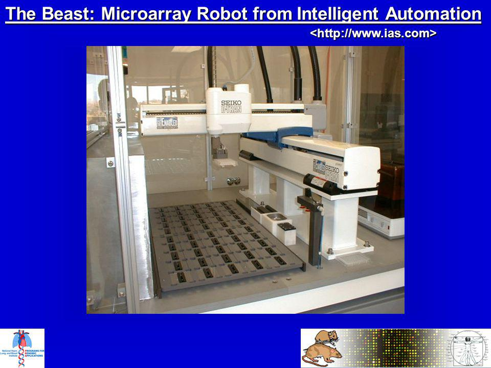 The Beast: Microarray Robot from Intelligent Automation