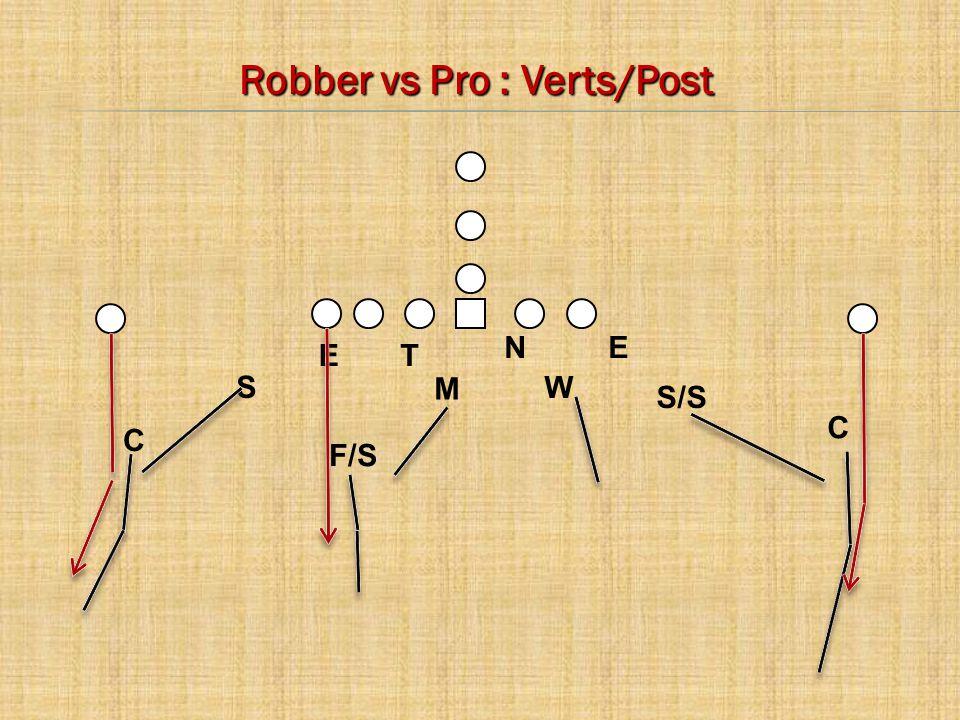 C E C M W S N T E F/S Robber vs Pro : Verts/Post S/S