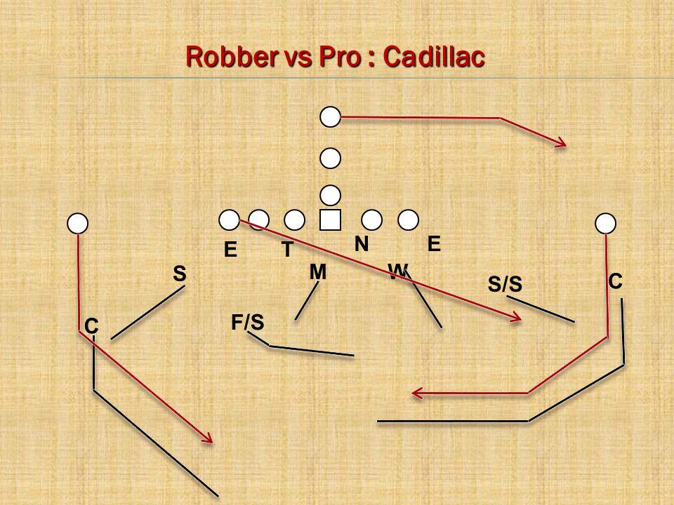 C E C M S W N T E F/S Robber vs Pro : Cadillac S/S