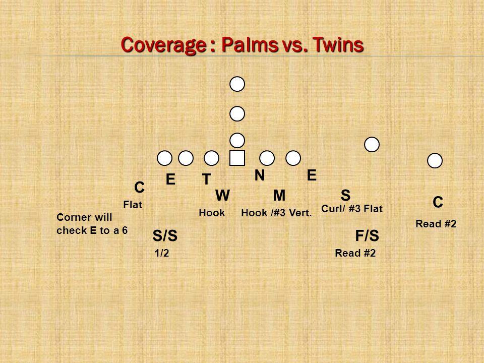 C E C MWS N T E F/SS/S Coverage : Palms vs.