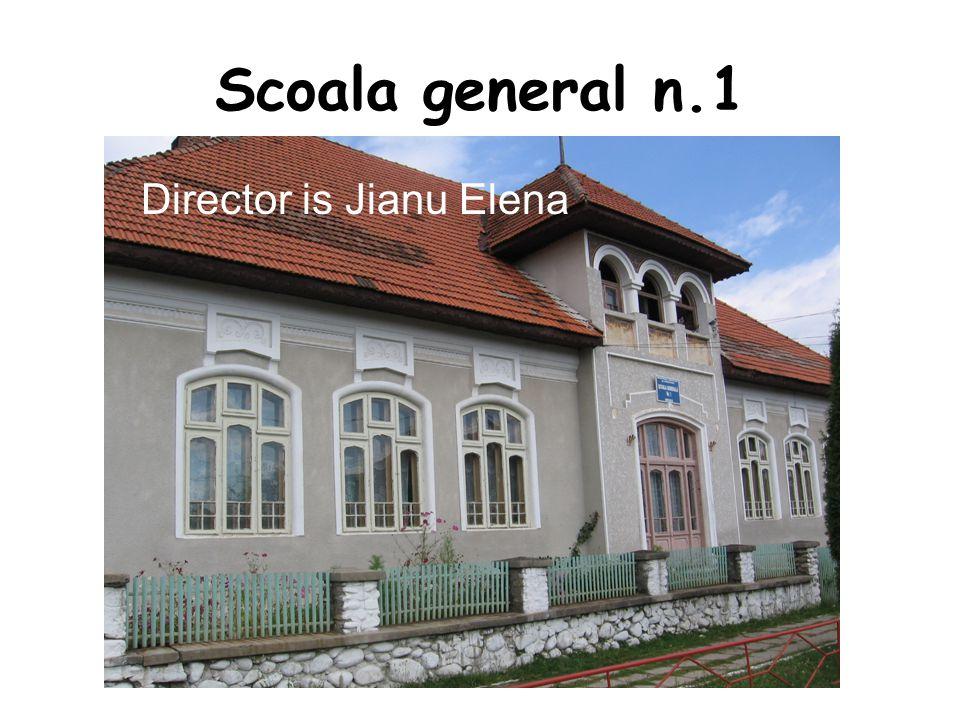 Scoala general n.1 Director is Jianu Elena