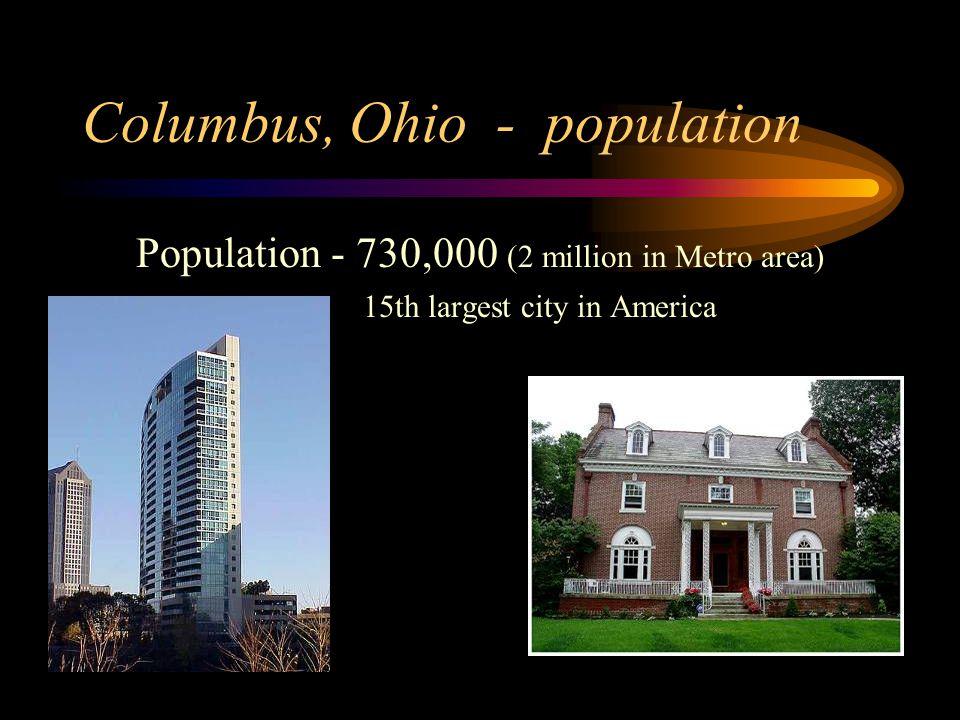 Columbus, Ohio - Home of … Arnold Schwarzenegger Classic American Whistle Company