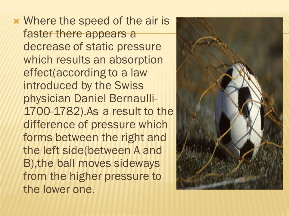 Where the speed of the air is faster there appears a decrease of static pressure which results an absorption effect(according to a law introduced by t
