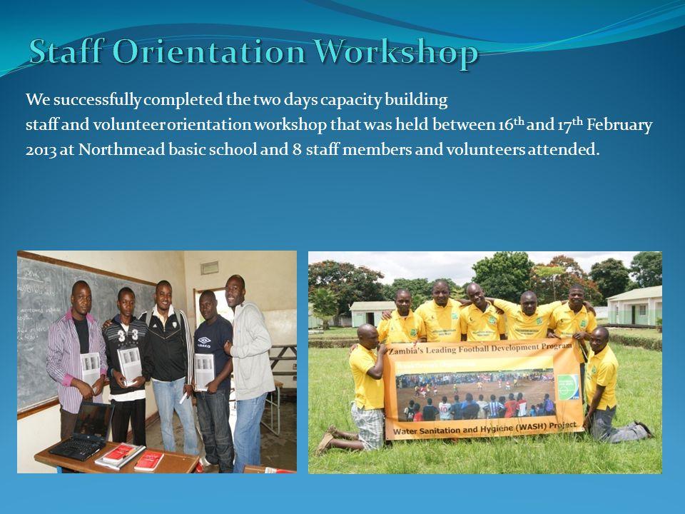 Organizers: National Community Youth Sports Initiative.