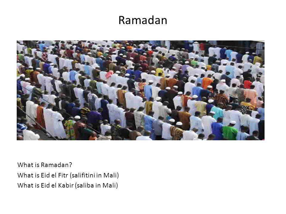 Ramadan What is Ramadan.