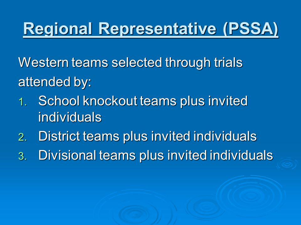 Secretary: Patricia Saville (02) 9707 6920 Council: NSW PSSA Executive (President, Senior VP, 3 x Vice Presidents, Treasurer, Exec.