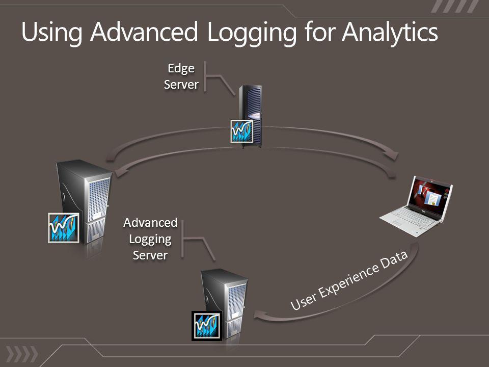 Advanced Logging Server Edge Server