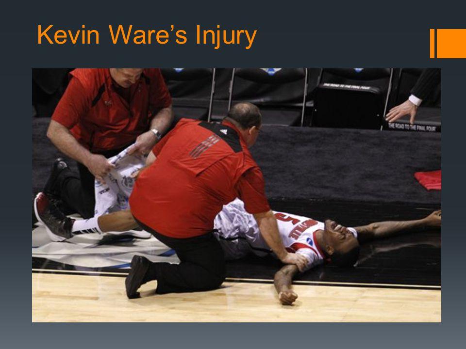 Kevin Wares Injury