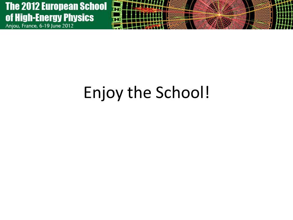 Enjoy the School!