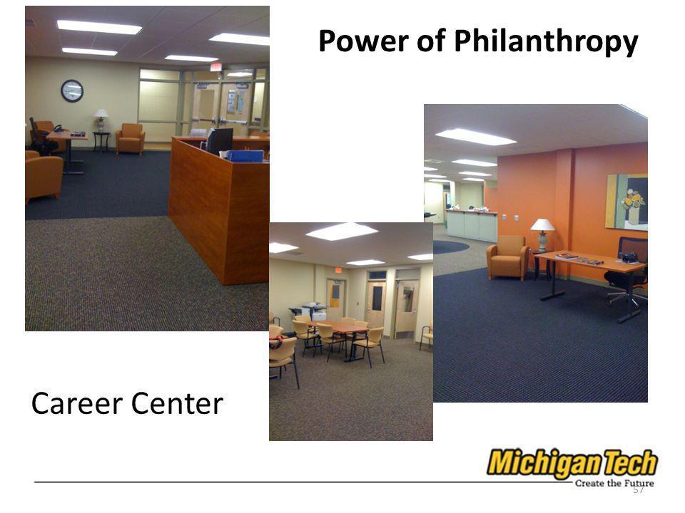 Career Center 57 Power of Philanthropy