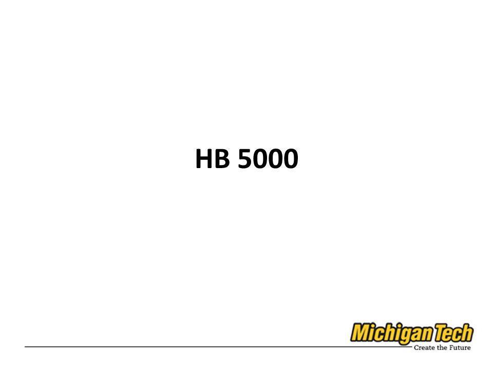 HB 5000
