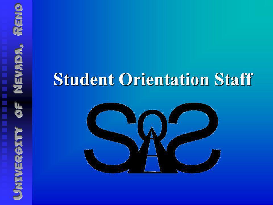 Student Orientation Staff