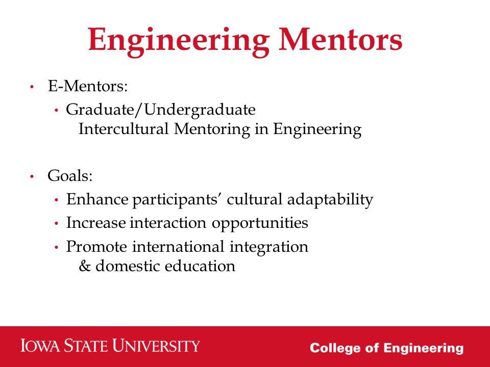 Background Deans Education Initiative Engineering International Engagement Annual funding: $30,000 Iowa States International Student Population