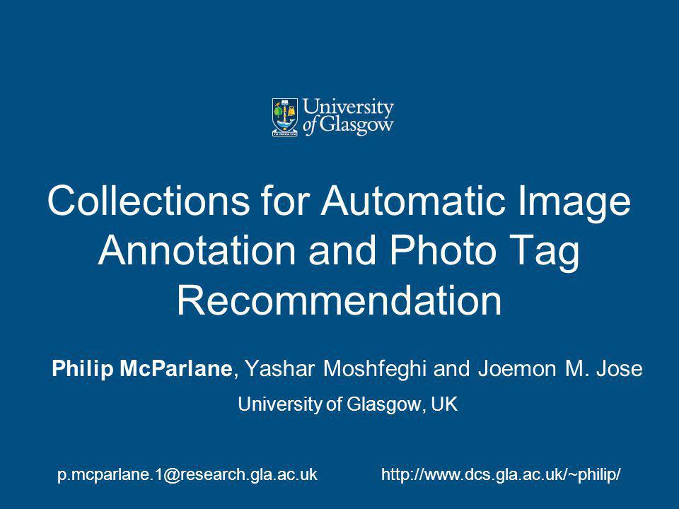 What are the problems with previous automatic image annotation collections?