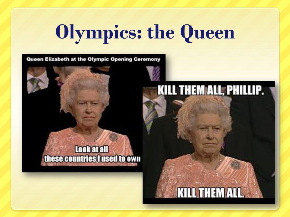 Olympics: the Queen