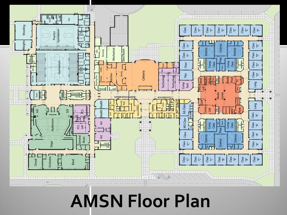********** AMSN Floor Plan