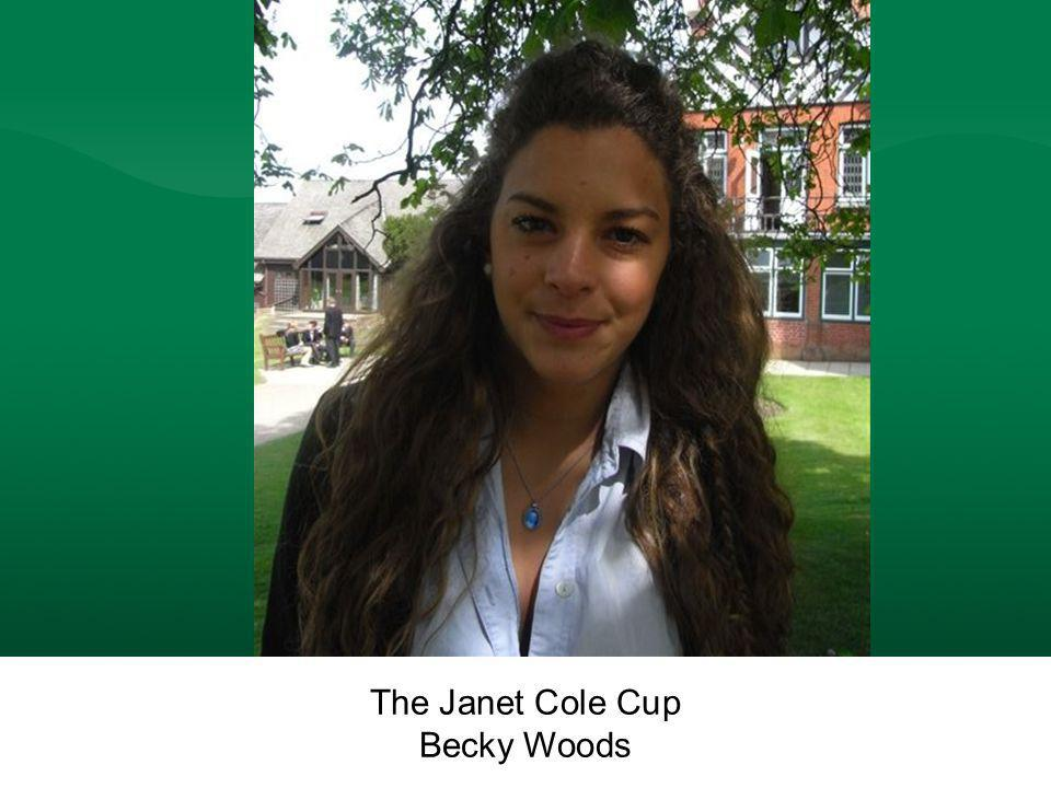 The Janet Cole Cup Becky Woods The Janet Cole Cup Becky Woods