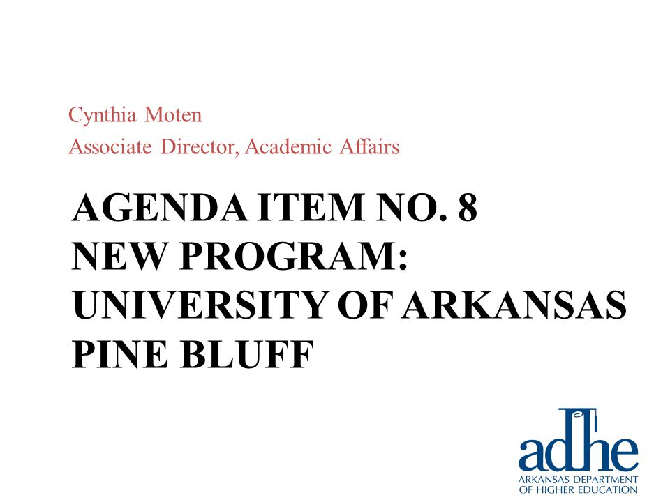 AGENDA ITEM NO. 7 ACADEMIC CHALLENGE SCHOLARSHIP Phil Axelroth Interim Director, Financial Aid