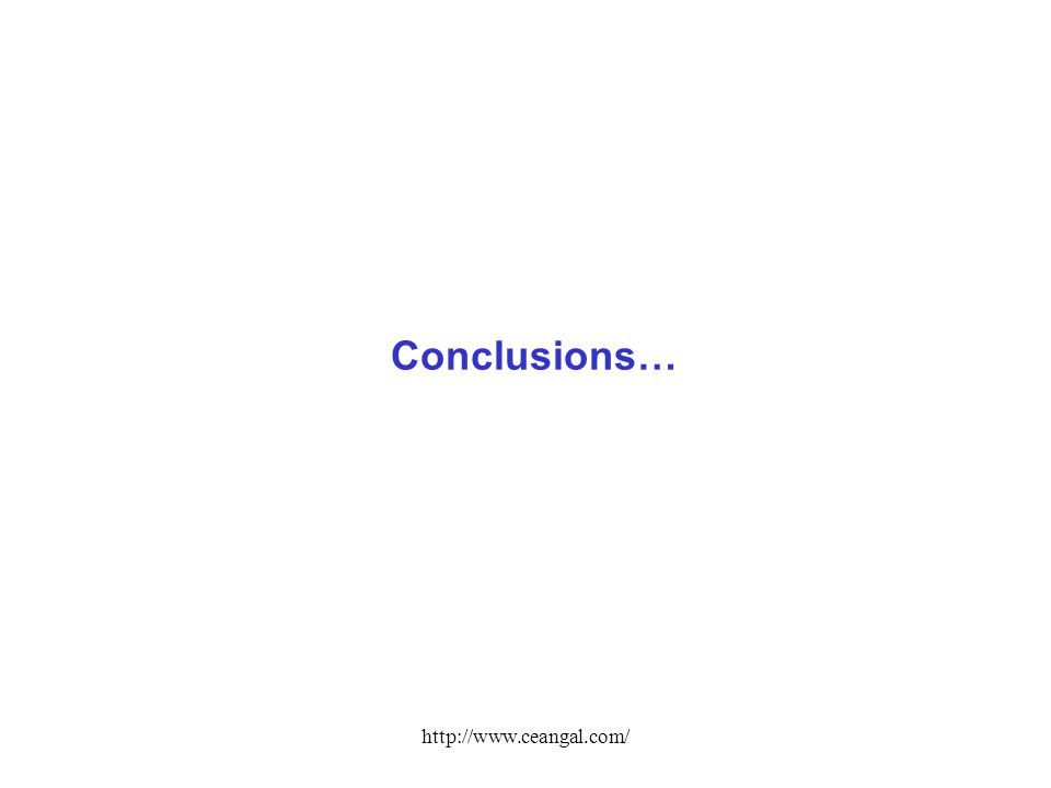 http://www.ceangal.com/ Conclusions…