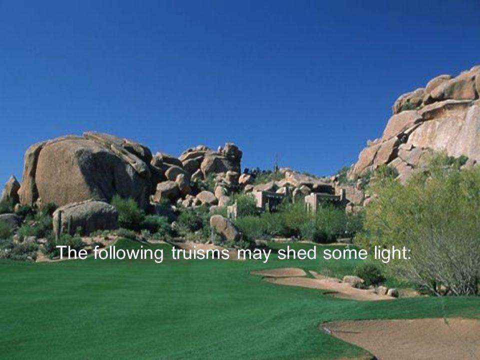 Ever wonder why golf is growing in popularity and why people who don t even play go to tournaments or watch it on TV?
