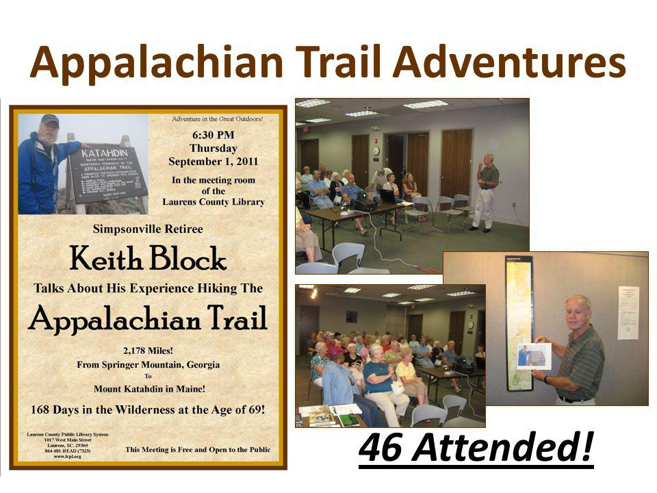 Appalachian Trail Adventures 46 Attended!