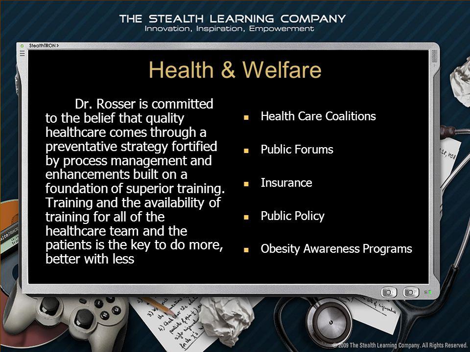 Health & Welfare Dr.