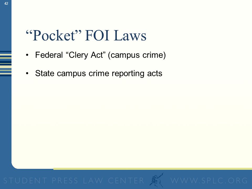 Pocket FOI Laws Discovering hidden sources of access law treasure