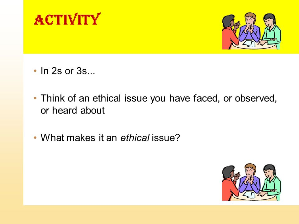 activity In 2s or 3s...