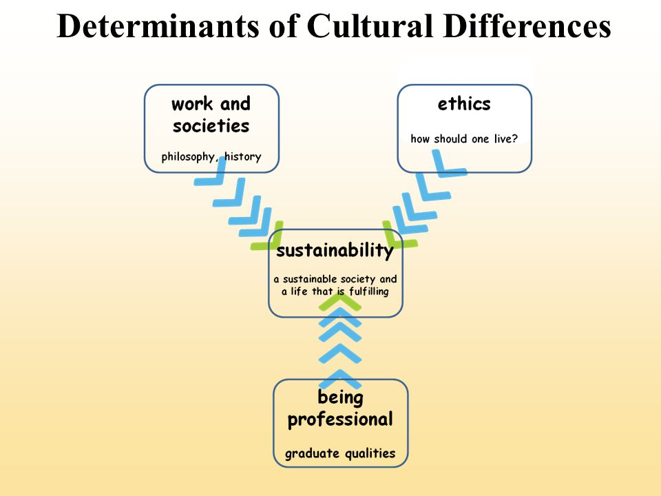 Determinants of Cultural Differences