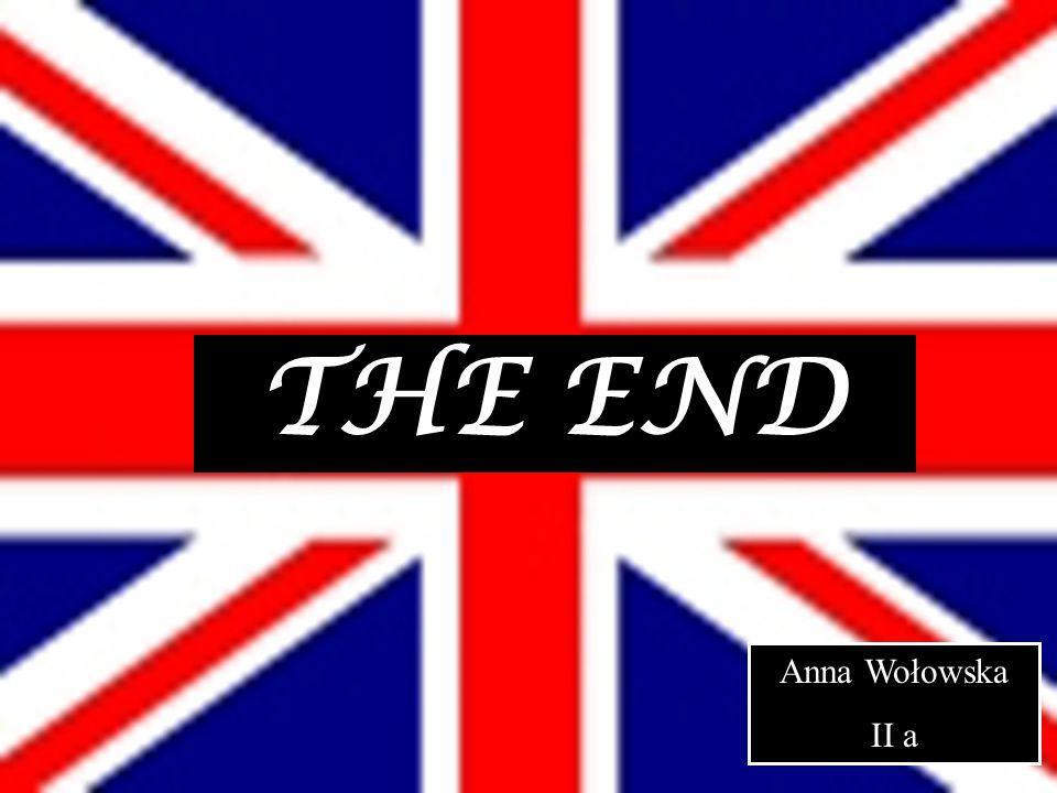 THE END Anna Wołowska II a