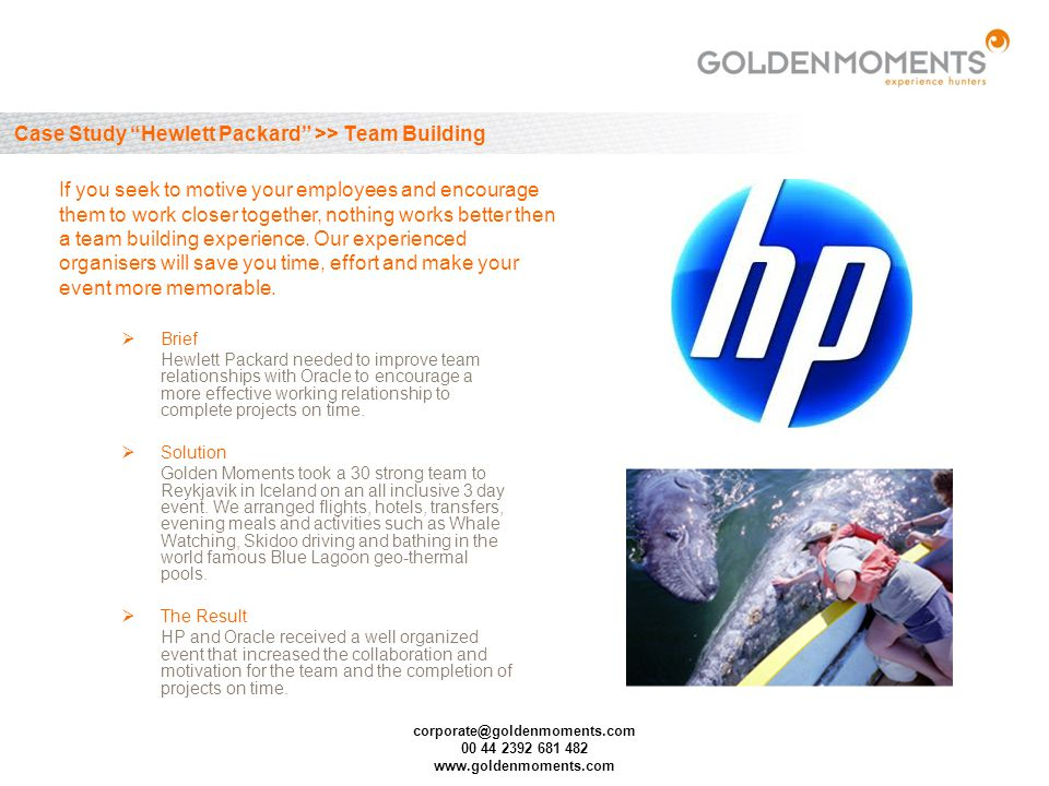 corporate@goldenmoments.com 00 44 2392 681 482 www.goldenmoments.com Case Study AEG >> Fixed Fee on Pack Promotion Brief AEG Power Tools set their marketing agency the task of raising the profile of the brand in the UK, whilst at the same time increasing volume sales in their distribution channel.