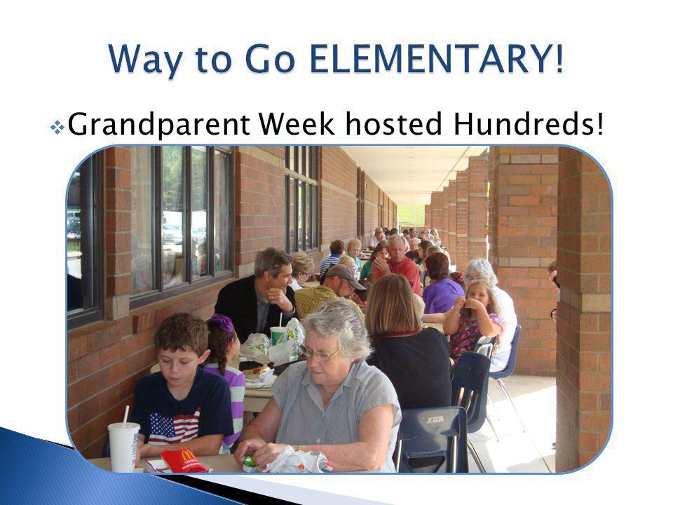 Grandparent Week hosted Hundreds!