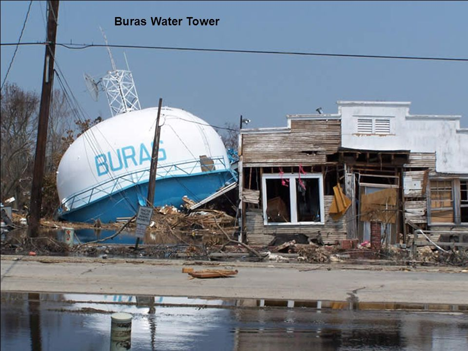 Buras Water Tower