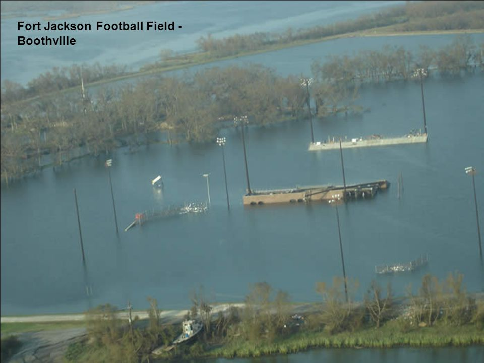 Fort Jackson Football Field - Boothville