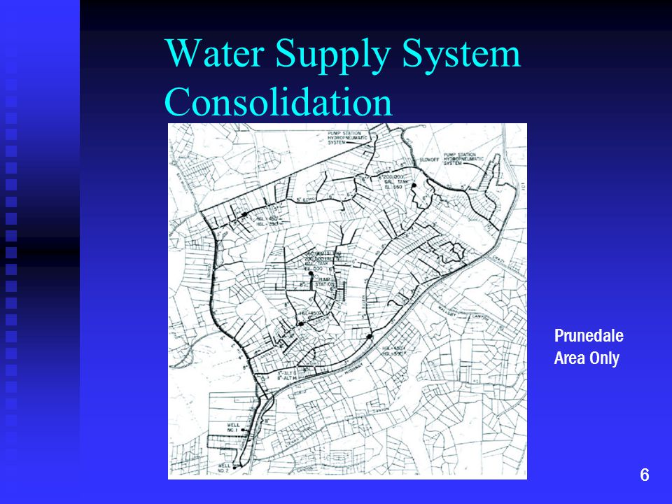 Water Supply System Consolidation Prunedale Area Only 6