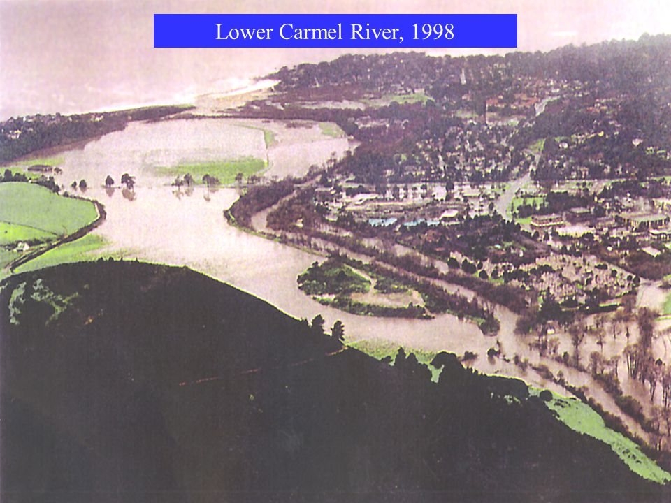 Lower Carmel River, 1998