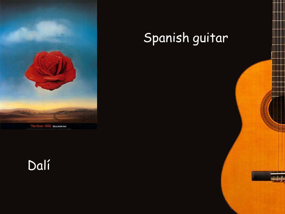 Spanish guitar Dalí