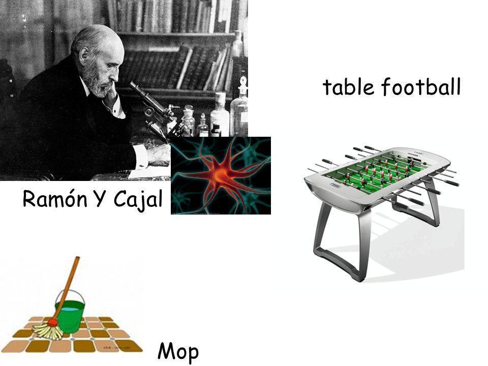 Ramón Y Cajal Mop table football